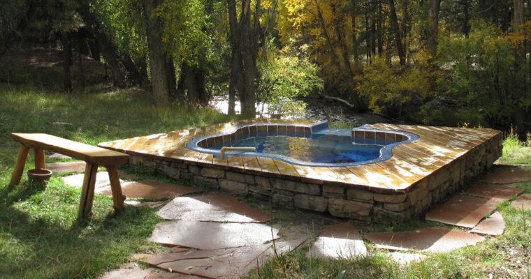Hot Springs in Colorado…