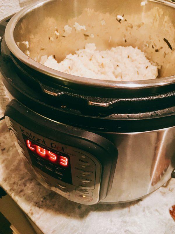 instant pot, risotto, basic recipe