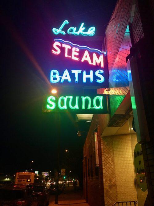 Lake Steam Baths in Denver