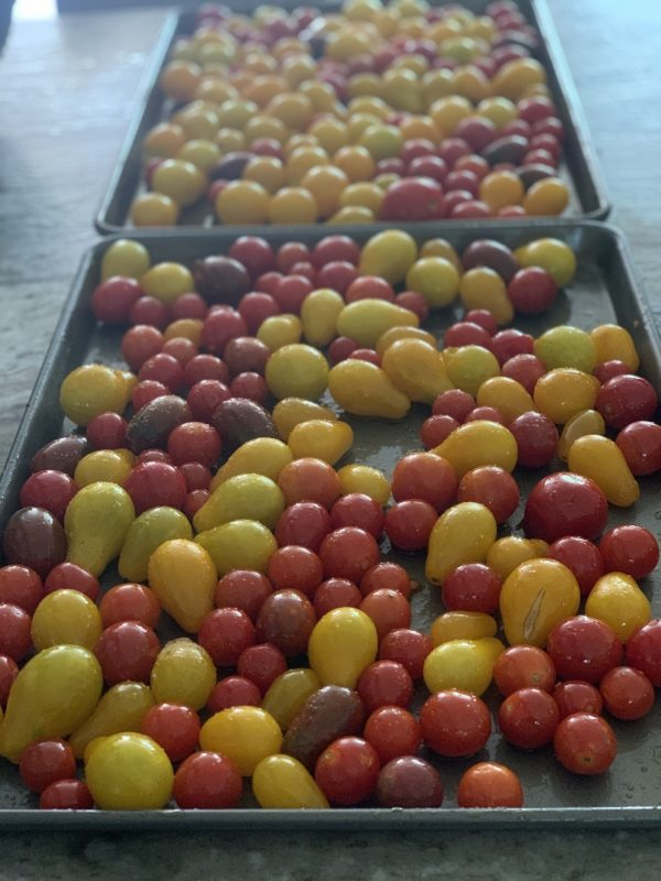 preserving cherry tomatoes